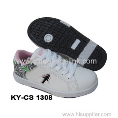 Skateboard Sneaker Shoe Flat Neoprene Sole