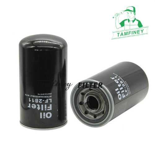 Auto engine oil filters in china for Sakura oil filter C-2811 2631283C10 26312-83C10 P502444 Truck Oil Filter