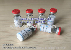 Domestic Logistics Growth Hormone Release Hormone Sermorelin Polypeptides from Pharmaceutical Labs Bobybuilding Peptide
