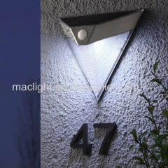Stainless Steel PIR Solar Outdoor Motion Light for Outdoor