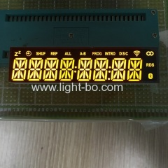 8 digit 14 segment;custom led display;custom 14 segment;