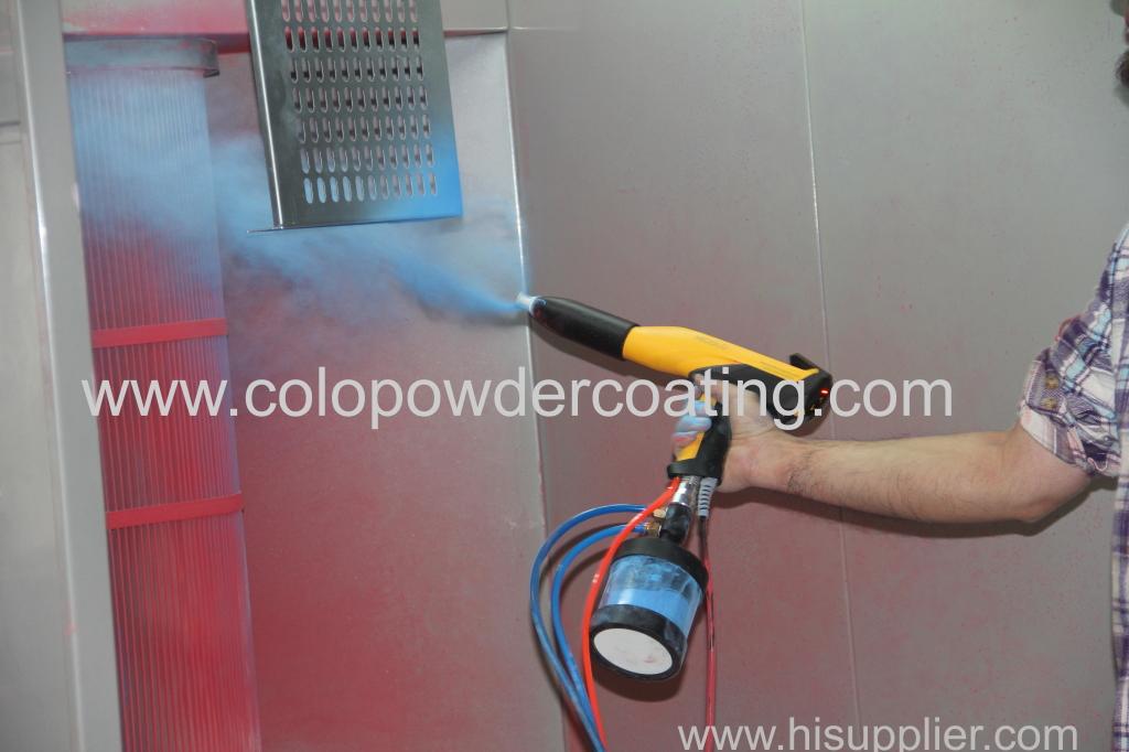 Insufficient powder on the workpiece??