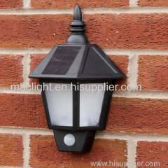 Outdoor Solar Security Welcome Wall Light with PIR Sensor