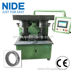 Stator spiral slinky winding production line