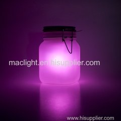 Solar Powered Decorative Mason Jar Light LED Light