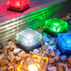 Solar Brick Ice Cube Path Light Crystal Garden Light for Decoration