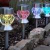 Garden Solar Diamond Pathway Lights