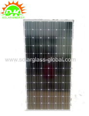 5BB 4BB 150W mono photovoltaic solar panel module for PV system water pump