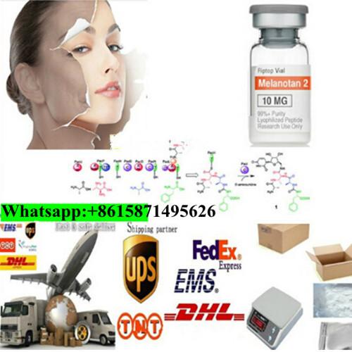 Top Service Injectable Mt2/Mt-2 Peptide 5mg/10mgvial for Skin Tanning Melanotan-2 121062-08-6