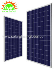 4bb 5bb 250w poly solar panel anti-reflective tempered Polycrystalline solar module
