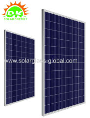 Hot 4BB 5BB 250w Poly Solar Panel module A GRADE China solar PV panel