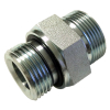 carbon Steel male METRIC 24 Cone to male BSP 60 cone seal hydraulic adapter ED Sealing