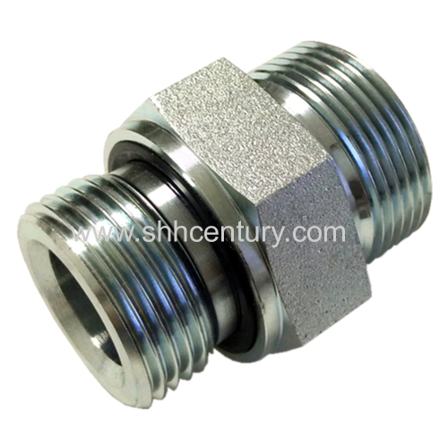 Carbon steel male metric cone to bsp seal