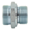 Carbon Steel PARKER GE Series 24 Degree Hydraulic Pipe Fitting Stainless Steel Available