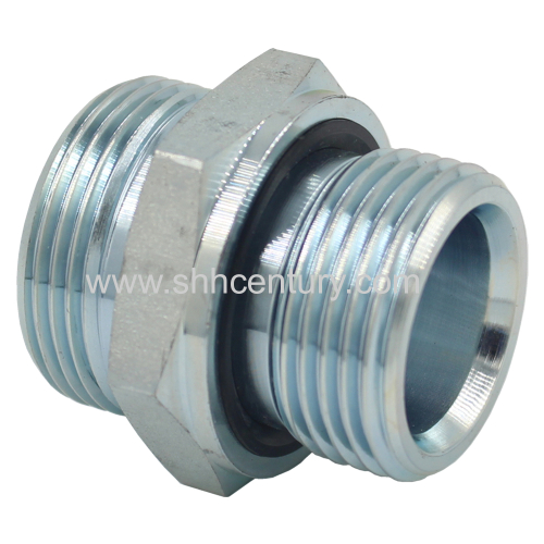 1CB 1DB Male Stud Hydraulic Adapter Hydraulic Pipe Fitting Stainless Steel Available