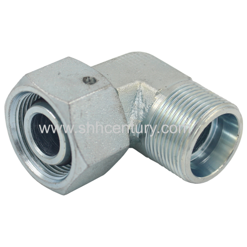Elbow 24 Degree H Type Hydraulic Adapter Hose Fitting Connect Pipe Stainless Steel Available