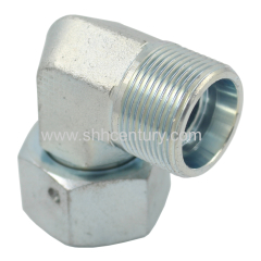 Bite Type Elbow 24 Degree H Type Hydraulic Adapter Hose Fitting Connect Pipe Stainless Steel Available