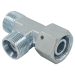 Swivel Nut Run Tee Hydraulic Adapter Tube Connector Hydraulic Fitting