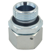 Carbon Steel Metric hydraulic fitting with swivel nut and captive seal