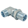 6C9 6D9 WSV Hydraulic fittings Metric MALE 90 degree elbow bulkhead adapter