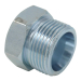 ROV Plug Stainless Steel Carbon Steel Metric Male Adapter Hydraulic Pipe Fitting(4C / 4D)
