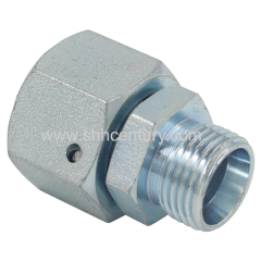 RED Swivel Nut Hydraulic Fitting