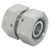 Double Swivel Nut Hydraulic Fitting H Type 3C/3D Straight Swivel Female Thread Nut Hydraulic Tube Fittings