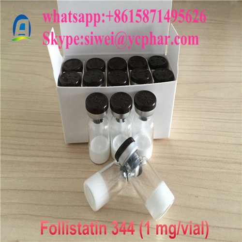 High Quality Follistatin 344 Peptide Increase Muscle Mass with 1mg/Vial 80449-31-6
