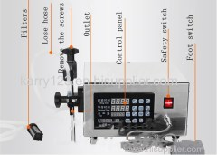 Pharmaceutical Manufacturing Equipment Single Head Liquid Quantitative Tank Machine