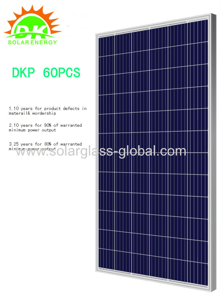 250 watts 260W solar photovoltaic panel
