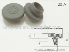 20mm Pharmaceutical Butyl Rubber Stopper for Medical Glass Vial Butyl Rubber Stopper