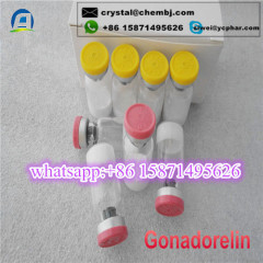 Top Service Gonadorelin 2mg/vial/10mg /Vial Peptides for Muscle Growth / Weight Loss 33515-09-2