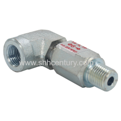 Elbow Hydraulic Rotary Fitting