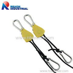 1/8inch Hydroponics Grow Rope Hangers with Ratchet