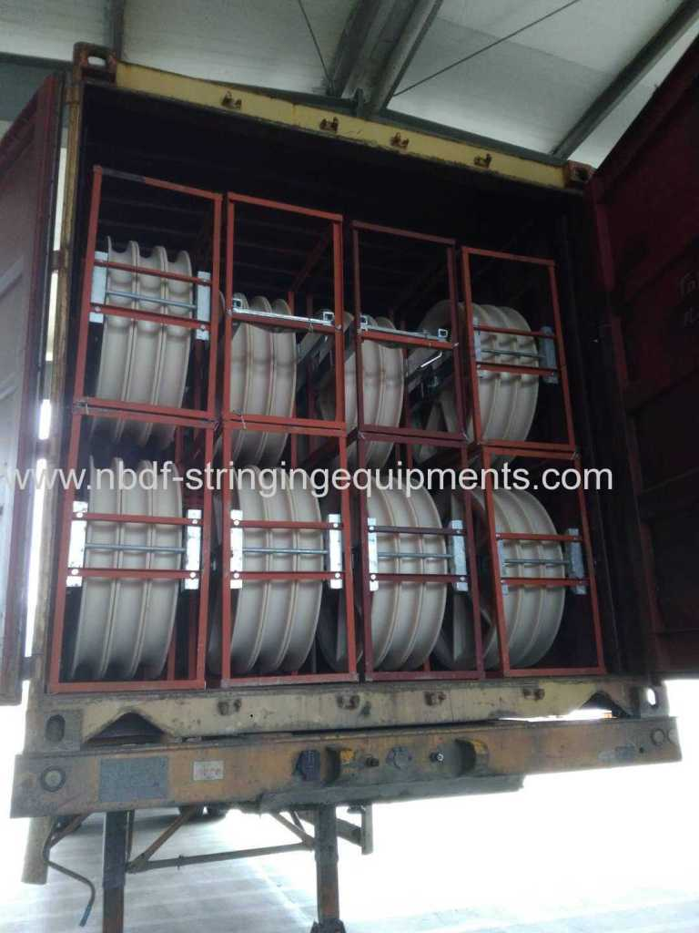 conductor pulleys exported to Europe country