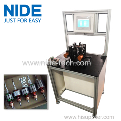 AUTOMTIC POSITION ARMATURE DYNAMIC BALANCING MACHINE ADDING WEIGHT