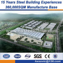 fabricated structure steel frame building construction American style