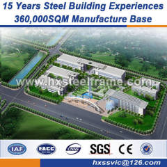 fabrication of structural steel work us metal buildings competitive price