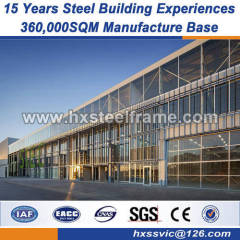 famous steel structures steel portal frame buildings high level manufacture