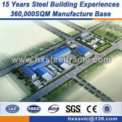 heavy metal fabrication 60x30 steel frame buildings BV verified