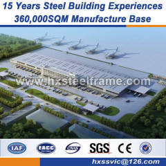 heavy steel steel built buildings strict quality monitoring