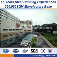high steel structures pre fab structures building Italy standard