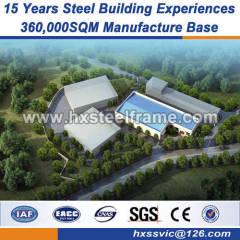 light gauge steel metal building parts convinient installation