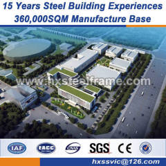 light steel structure prefabricated steel structures ISO 9001 OHSAS 18001