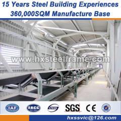 lightweight steel prefabricated steel structures economic design