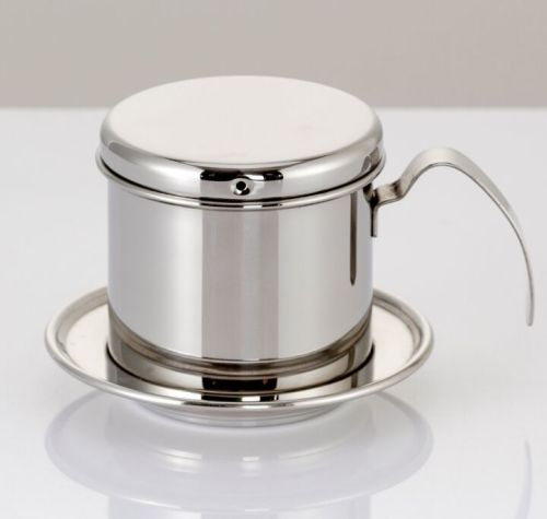 stainless steel drip type vietnamese coffee pot