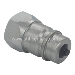 Carbon Steel 1/2 Hydraulic Couplers plug For Tractors