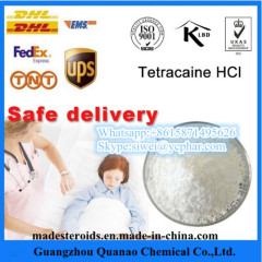 Discreet Package Local Anesthetic Tetracaine CAS 94-24-6 for Pain Reliever