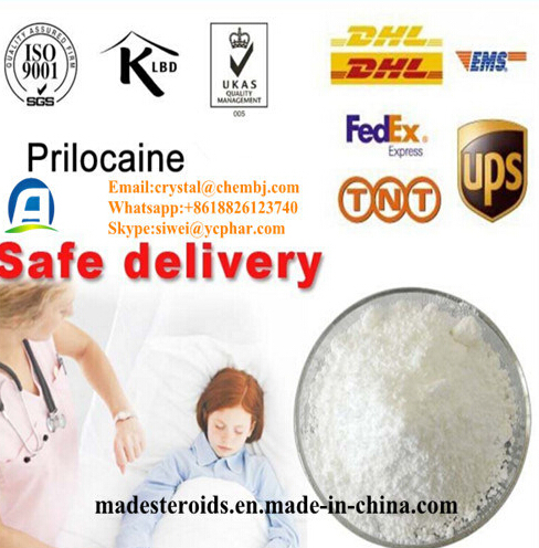 Discreet Package 99% Purity Local Anesthetic Prilocaine 721-50-6