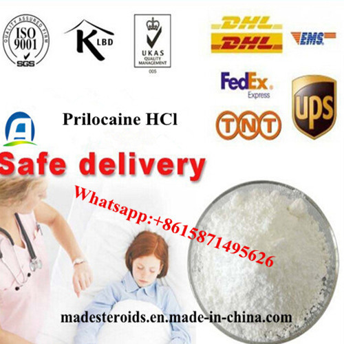 99% Purity Safe Shipping Prilocaine Hydrochloride/ Prilocaine HCl 1786-81-8 with Disguised Package